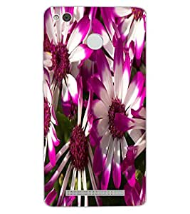 ColourCraft Beautiful Flowers Design Back Case Cover for XIAOMI REDMI 3X