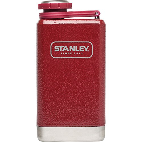 Stanley Adventure Stainless Steel Flask, Hammertone Crimson, 5 oz (Stanley Cycle Flask compare prices)