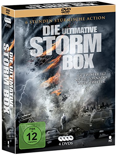 Die ultimative Storm Box - Limitiertes Boxset mit 4 Tornado-Highlights (exklusiv bei Amazon.de) (4 DVDs)