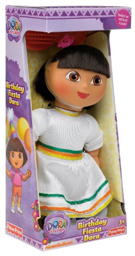 Fisher-Price On the Go Birthday Fiesta Dora Doll - 1