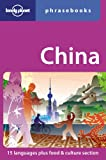 Lonely Planet China Phrasebook (Lonely Planet Phrasebooks)