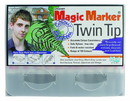 magic-markers-twin-tip-marker-blue-pack-of-12