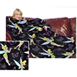 Disney Tinkerbell Fleece Throw Blanket with Sleeves