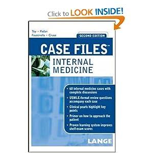 Case Files Internal Medicine,   by Eugene Toy