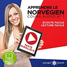 Apprendre le Norvégien - Texte Parallèle Cours Audio, No 1 [Learn Norwegian - Parallel Text Audio Course, No. 1] | Livre audio Auteur(s) :  Polyglot Planet Narrateur(s) : Anette Olsen, Daniel Ugland, Ory Meuel
