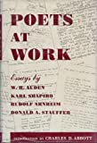 img - for Poets at Work: Essays Based on the Modern Poetry Collection at the Lockwood Memorial Library, University of Buffalo book / textbook / text book