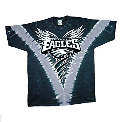 Philadelphia Eagles Logo V Tie Dye T-shirt