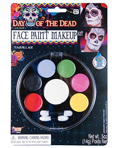 Day of the Dead Face Paint Makeup Kit
