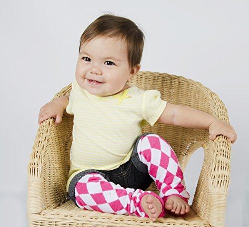 Baby Leggings Set of 3 - Regan's Pink Sporty Jockey, Argyle, Camoflauge, Football