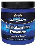 BodyTech - Glutamine Powder, 11 oz powder