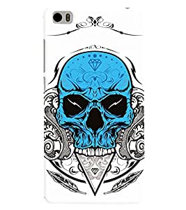 printtech Skull Back Case Cover for Xiaomi Redmi Mi5::Xiaomi Mi 5