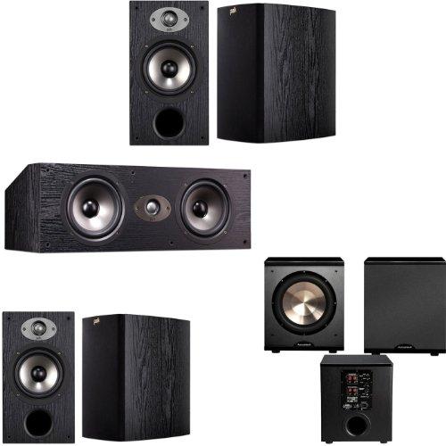 Polk Audio Tsx220 5.1 Home Theater System (Black)