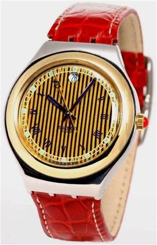 Swatch Swiss Irony Two Tone Mens Watch - YCS78CRG