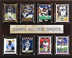NFL New York Giants All-Time Greats Plaque by C&I Collectables