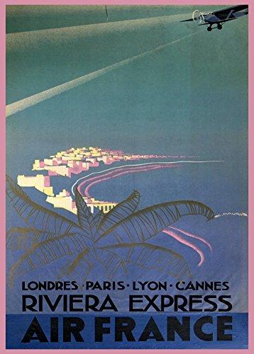 vintage-de-aviacion-o-para-viajar-londres-con-air-france-paris-lyon-poster-de-aviacion-de-cannes-riv