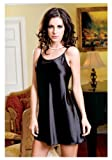 iCollection Womens Sexy Satin Chemise thumbnail