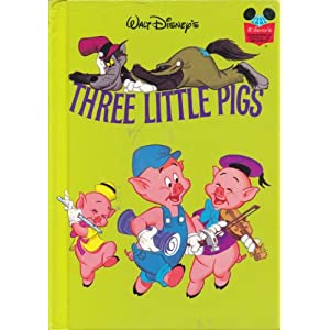 THE THREE LITTLE PIGS (Disney's Wonderful World of Reading) Barbara Brenner
