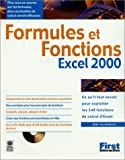Formules et fonctions d'Excel 2000