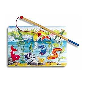 Ravensburger Magnetic Fishing 7 Piece Wooden Puzzle