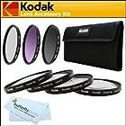 Kodak 67mm Macro Kit Includes: 4pc. Close-Up Macro Filters + 3pc Filter Kit (UV, CPL, FLD) For Nikon Df, D7100 D7000 D5300 D5200 D5100 D3200 D800 D700 D600 D610 D810 D300S D90 Canon EOS 5D Mark III, EOS-1D X, 6D, 7D, 60D, 70D, T5i, T4i, SL1, T3i T3 EOS M