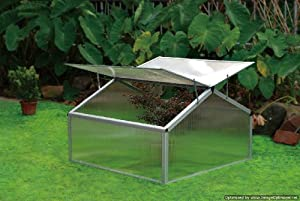 EarthCare Double Cold Frame Greenhouse Gardening Kit