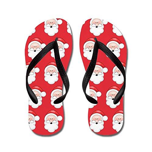 CafePress-Fun-Christmas-Santa-Claus-Pattern-Flip-Flops-Funny-Thong-Sandles-Beach-Sandles