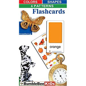 Colors Shapes & Patterns Flashcards