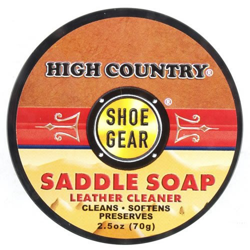 High Country Shoe Gear Saddle Soap, 2.5 oz