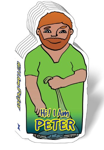 Hi! I Am The Apostle Peter, Bible Story Book for Children, Peter The Apostle, Board Book, Bible Figure Books (Bible Figure Book Series) [Cecilie Vium Olesen] (Tapa Dura)