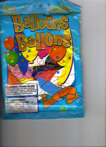 Balloons Ballons 85g bag Assorted