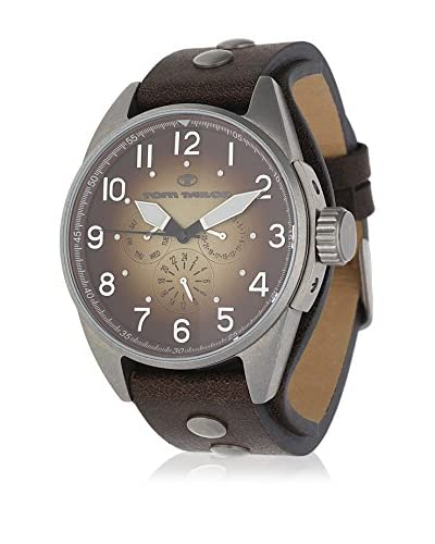 TOM TAILOR Reloj de cuarzo 5405904 Marrón 46 mm