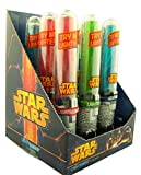 Disney's Star Wars Light Up Lightsaber Candy Suckers, Assorted Fruit, Pack of 9