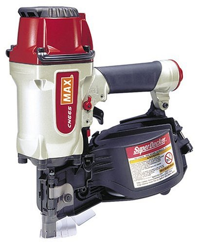 Max CN665 1-1/2-Inch to 2-1/2-Inch Coil Decking Nailer