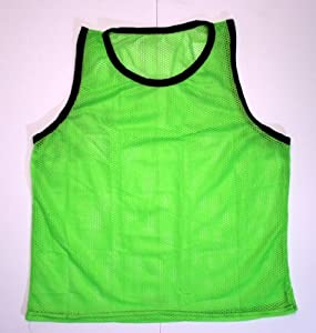 BlueDot Trading Youth High quality 12 Green sports pinnies- 12 High quality scrimmage... by Bluedot Trading