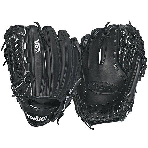 Wilson 2016 A2K D33 Pitcher Baseball Glove, Black/White Logos, Left Hand Thrower (Pitcher Baseball Glove compare prices)
