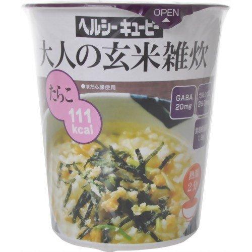 ヘルシーキユーピー大人の玄米雑炊たらこ 31.1g