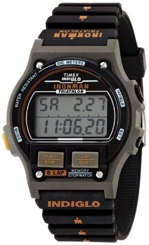 [タイメックス]TIMEX アイアンマン 8ラップ 1986エディション ブラック/オレンジ T5H941-N  【正規輸入品】