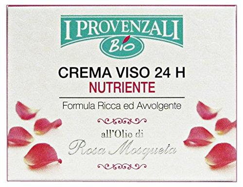 I Provenzali Crema Viso 24 H Nutriente Rosa Mosqueta 50 ml