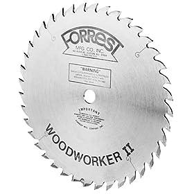 Forrest WW10307100 Woodworker II  10-Inch 30 Tooth 5/8-Inch Arbor 3/32-Inch Kerf Circular Saw Blade