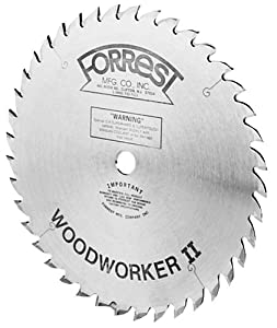 Forrest WW10307125 Woodworker II 10-Inch, 30 Tooth, 5/8-Inch Arbor, 1/8-Inch Kerf Circular Saw Blade at Sears.com