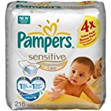 Pampers - 81374440 - Lingettes Maximum Care - 4 x 54 Lingettes