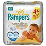 Pampers Sensitive Maxcare Refill - 4...