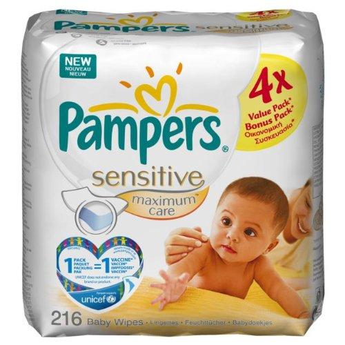 Pampers - 81374440 - Lingettes Maximum Care -