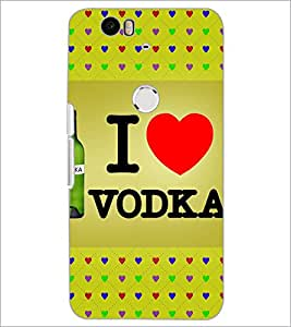 PrintDhaba Quote D-5976 Back Case Cover for HUAWEI NEXUS 6P (Multi-Coloured)