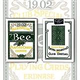 Erdnase 1902 Bee Playing Cards - Green (Color: _, Tamaño: Green)