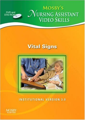 Vital Signs Dvd 3.0 (Mosby's Nursing Assistant Video Skills)