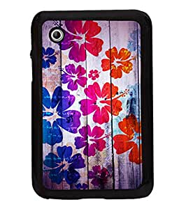 printtech Floral Pattern Wooden Back Case Cover for Samsung Galaxy Tab 2 7.0 P3100 , Samsung Galaxy Tab 2 (7.0)
