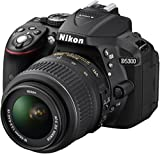 Nikon D5300 Appareil photo num�rique R�flex 24,2 Mpix Kit Bo�tier + Objectif AF-S DXVR 18-55 Mm Noir