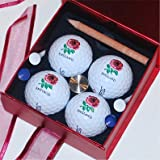 England Titleist ProV Golf Gift Set (Red)by Titleist