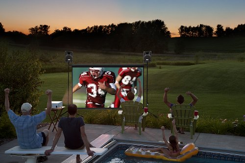 Backyard Theater Complete 10-foot Outdoor Movie